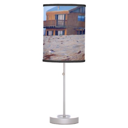 beach house sand sandpiper birds florida lamps