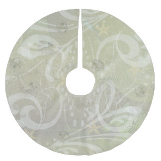 Beach House Sea Brushed Polyester Tree Skirt