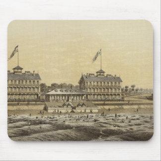 Beach House, Sea Girt, Monmouth Co, NJ Mouse Pad