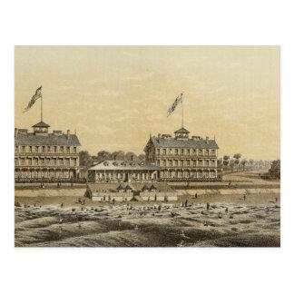 Beach House, Sea Girt, Monmouth Co, NJ Postcard