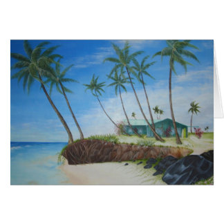 Beach House Stationery Note Card