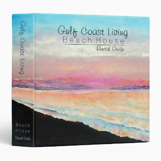 Beach House Vacation Home Guest Information Binder