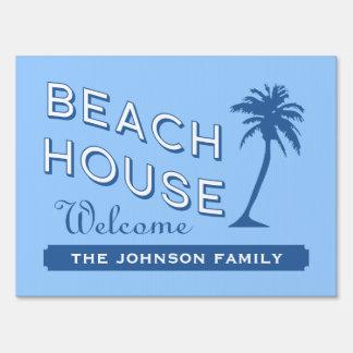 Beach House Yard Sign
