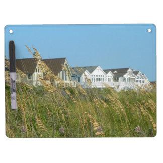 Beach Houses and Beach Grass Dry Erase Board