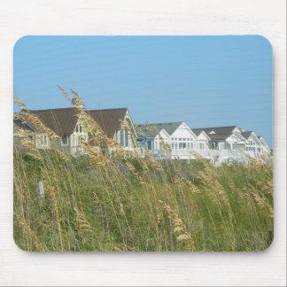 Beach Houses and Beach Grass Mousepad