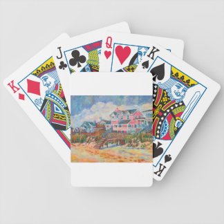 Beach Houses at Pawleys Island Playing Cards