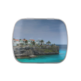 Beach houses jelly belly tins
