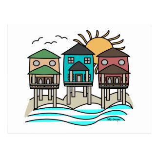 Beach Houses Cards