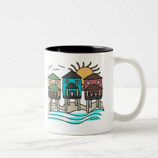 Beach Houses Coffee Mug