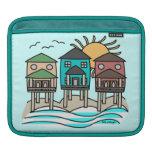 Beach Houses iPad Sleeve