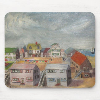 Beach Houses Mouse Pad