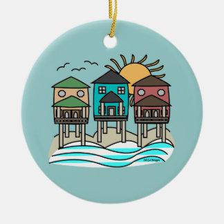 Beach Houses Ornament