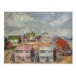 Beach Houses Postcard