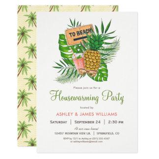 Beach Housewarming Party Invitation