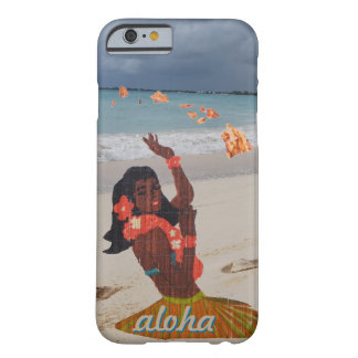 Beach Hula Girl Barely There iPhone 6 Case