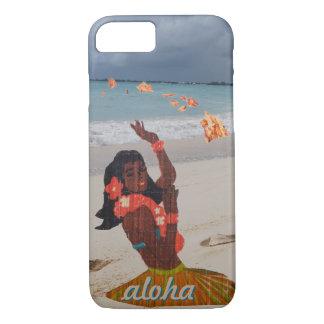 Beach Hula Girl iPhone 7 Case