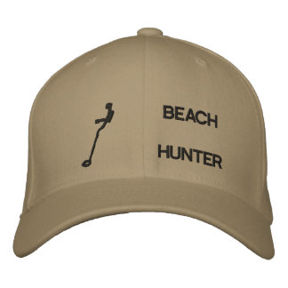 Beach Hunter Embroidered Hat