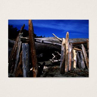 Beach Hut Business Card