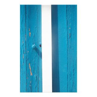 Beach Hut Door Stationery