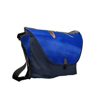Beach Hut Messenger Bags
