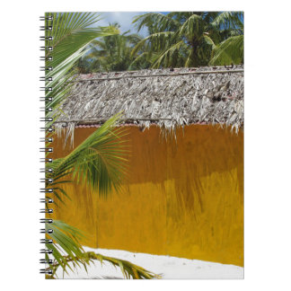 beach hut spiral notebooks