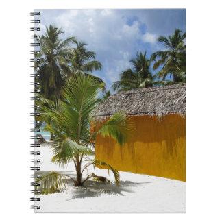 beach hut note book
