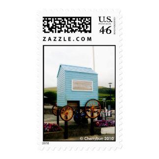 Beach hut Postage