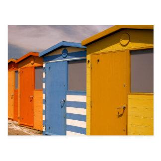 Beach - Hut Postcard