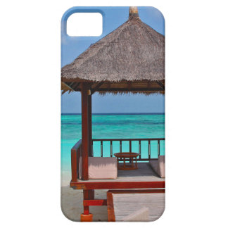 beach hut tropical paradise peace relax remote iPhone SE/5/5s case