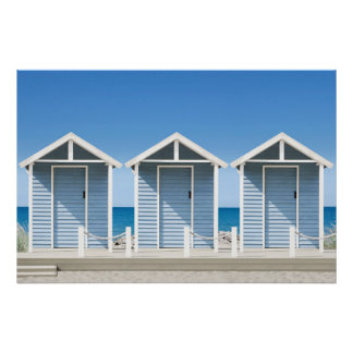Beach Huts 2 Poster