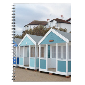 Beach Huts At Southwold Spiral Note Book