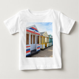 Beach Huts In Eastern England Baby T-Shirt