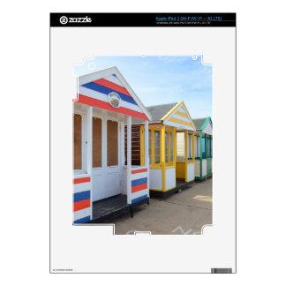 Beach Huts In Eastern England iPad 3 Decal