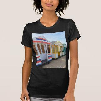 Beach Huts In Eastern England T-shirt
