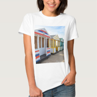 Beach Huts In Eastern England Tee Shirt