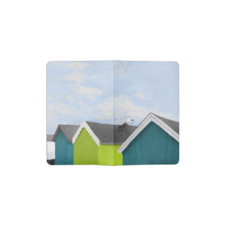 Beach Huts Pocket Moleskine Notebook Cover With Notebook