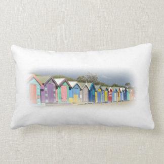Beach Huts Pillows