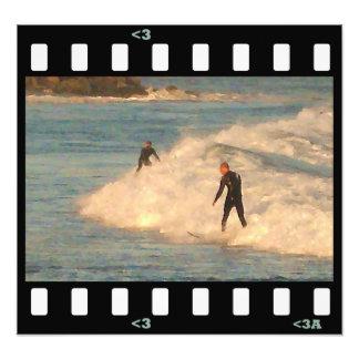 beach- impressionist surf photographic print