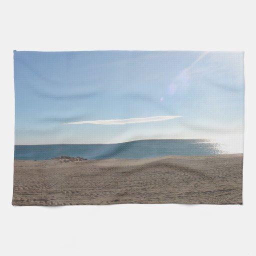 Beach in Almeria Spain Towels