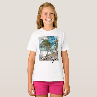 Beach in Ambergris Caye Belize T-Shirt