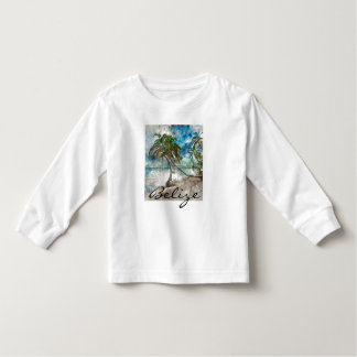 Beach in Ambergris Caye Belize Toddler T-shirt