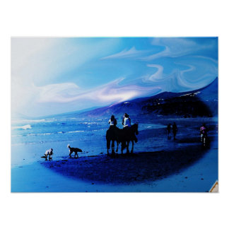 Beach in Baja Mexico Poster