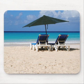 Beach in Barbados Mouse Pad