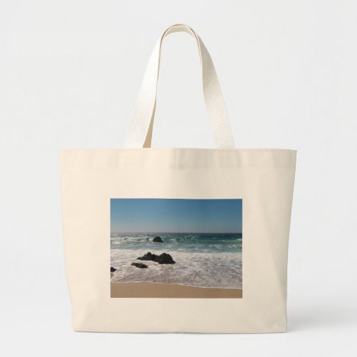 Beach in Carmel, Ca. Tote Bag