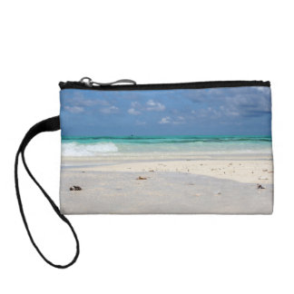 Beach in Colombia Change Purse