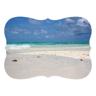 Beach in Columbia Card