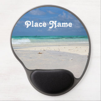 Beach in Columbia Gel Mouse Pad