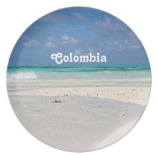Beach in Columbia Plate