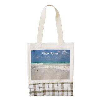 Beach in Columbia Zazzle HEART Tote Bag