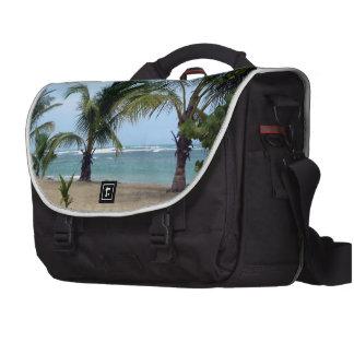 Beach in Dominican Republic Laptop Computer Bag